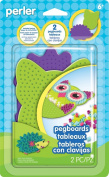 Perler Pegboards 2/pkg-assorted Shapes & Colours