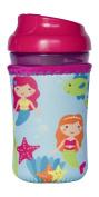 Kidzikoo - #1 Neoprene Baby Bottle/sippy Cup Insulator Cooler Coozie - Mermaids,
