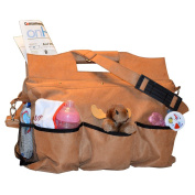 Mens Rugged Nappy Bag - Men And Moms Will Love The Large Main Compartment And