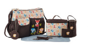 Soho Collection, 8 In 1 Deluxe Nappy Bag  .   Forest Buddy