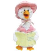 Cuddle Barn Plush Talking Mother Goose Plays 7 Nursery Rhymes Pink Plush Figure