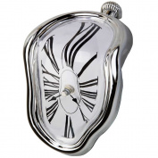 Table Melting Time Flow Desk Clock, Decorative & Funny, Salvador Dali Inspired ,