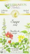 Celebration Herbals Organic Sage Leaf Tea 24 Bag