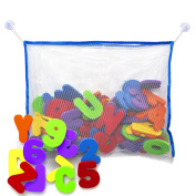 Bath Letters And Numbers Shower Caddies With Bath Toy Organiser. The Best Bath