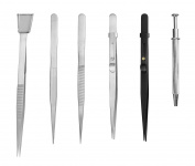 Se Tw2-407 6-piece Diamond Tweezers Set