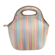 Built Ny Gourmet Getaway Neoprene Mini Snack Tote, Candy Dot