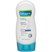 Cetaphil Baby Wash And Shampoo With Organic Calendula, 230ml