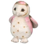 Pink Owl Toy Bird Plush Stuffed Animal 15cm Camo Wild Wildlife Artists Stuffed An