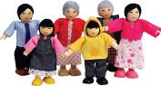 Hape Happy Family Asian Doll House Set