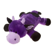 Laydown Purple Cow Soft Plush Stuffed Animal Toy By Fiesta Toys 60cm Stuffed Ani