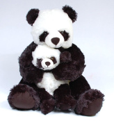 46cm Mommy And Baby Panda Plush