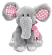 Cuddle Barn Animated Singing Plush Toy Ellie The Elephant Cb4773 Plush Figure