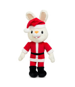 Baby First Tv - Christmas Santa Harry The Bunny - Soft Plush Toy For Baby Sho...