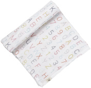 Pehr Designs Petit Pehr Alphabet Swaddle, New,  .