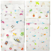 Sweet Layette 15 Pcs 100% Cotton Baby Handkerchief Gauze Muslin Square, New, Fre