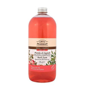 Green Pharmacy Bath Foam Muscat rose and Green Tea Parabens FREE 1000ml