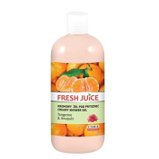 Fresh Juice Creamy shower gel Tangerine and Awapuhi extracts 500ml