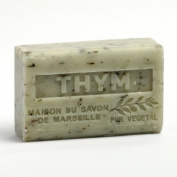 French Soap, Traditional Savon de Marseille - Crushed Thyme (Thym Broye) 125g