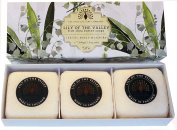 Gift Boxed Hand Soaps 3 x 100g Lily of the Valley