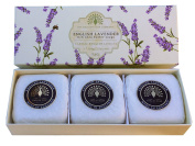 Gift Boxed Hand Soaps 3 x 100g English Lavender