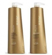 Joico K-Pak Colour Therapy Shampoo 1000ml & conditioner 1000ml Duo + Pumps