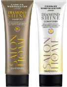 (2 PACK) Charles Worthington Diamond Shine Shampoo x 250ml & Charles Worthington Diamond Shine Conditioner x 250ml
