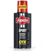 THREE PACKS of Alpecin Sport Caffeine Shampoo 250ml