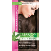 Marion Hair Colour Shampoo in Sachet Lasting 4-8 Washes - 53 - Coffee Brown