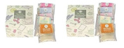 Pack of 2, Tea Party Bath Gift Sets, 2 Boxes of 5 Aromatherapy Salt Tea Bags