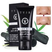 Oshide 50g Blackhead Remover Mask Activated Natural Charcoal Black Mask Blackhead Peel Off Remover Cream