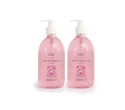 SBC Rose And Argan Skincare Gel 500ml Duo Two 500ml Bottles 1000ml