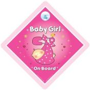 Baby on Board Car Sign, Grandchild on Board, baby Car Sign, Baby on Board Sign, Baby on Board Car Sign, Pink Sling, Baby on Board Sign, Baby on Board, Maternity, Pregnancy, Baby Car Sign, Child On Board, Grandchild On Board