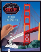 Kaleidoscope Colour by Stickers - World Landmarks