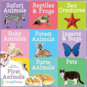 First Steps Learning Library Trays First Animals [Board book]