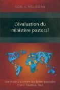 L'Evaluation du Ministere Pastoral [FRE]