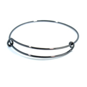 6.5cm DIY Jewellery Accessory Expandable Bangle Bracelet, 10 Pcs Set