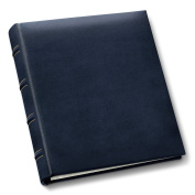 Our COMPACT album in rich blue bonded eather - 4x6