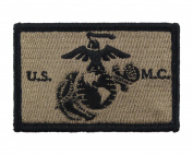 USMC EGA Patch Fully Embroidered United States Marine Corps Tactical Hook and loop Morale Tags