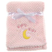 "Snugly Baby ""Nighty Night"" Ultra Soft Plush Baby Blanket"