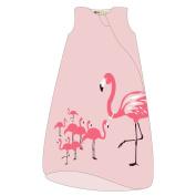 Wee Urban Cosy Basics 4 Season Toddler Sleeping Bag, Pink Flamingo, Large 18-36m