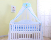 Mosquito Net - IFELES Toddler Bed Crib Canopy Mosquito Netting