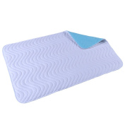 CHUANGLI Waterproof Mattress Bed Protector Underpad Sheet Protector for Children Adults with Incontinence Large 7090 cm
