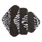 AMA(TM) Reusable Bamboo Fibre Washable Menstrual Pads Mama Cloth Sanitary Towel Pads