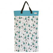EcoAble Large Wet Dry Bag for Baby Cloth Nappies Storage or Laundry
