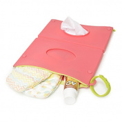 CB GO Silicone Wipes Clutch Case, Bright Pink