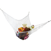 Biubee Hammock for Soft Toys -Storage Mesh Net for Children's Stuffed Animals-Ideal Solution for Gathering Stuffed Dolls