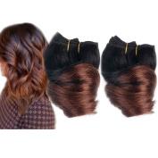 Emmet 20cm Brazilian Spring Curl Hair Weaves 2pcs/Lot 50g/pc 100% Human Hair Weft