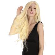 KINGHAIR Bleach Blonde(#613) Clip In Remy Hair Extensions - 50cm - 170G Full Head Set