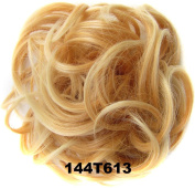 Ladies Elastic Wave Curly Synthetic hairpieces Scrunchie Wrap For Hair Bun Chignon Accessories 30g