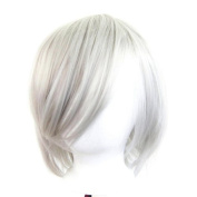 Ren - Silver Grey Wig 30cm Short Flare Cut